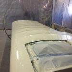Right wing after painting.